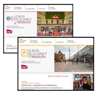 blogs E et P Transilien
