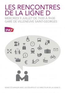 Rencontre gare de Villeneuve-Saint-Georges