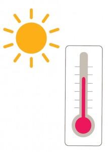 forte chaleur