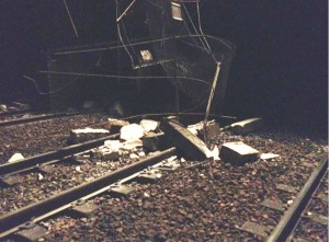 accident RER D Marly