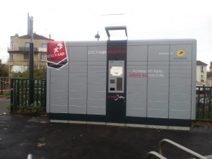 """Pick Up Station"" en gare de Melun"