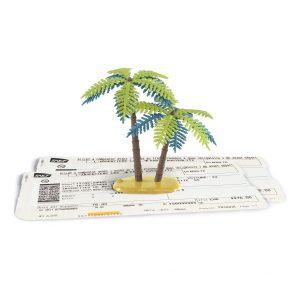 Billets et palmiers